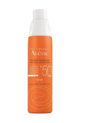 AVENE  Spray Spf50+ 200 Ml - Tüm Ciltler Renksiz